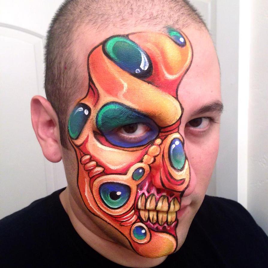 Orange Alien Monster by RonnieMena