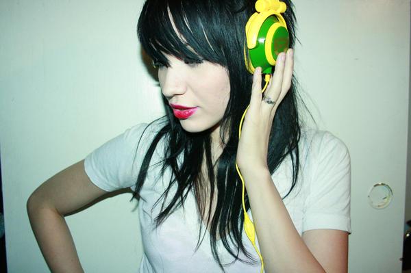 sassy n headphones by livinginurletters