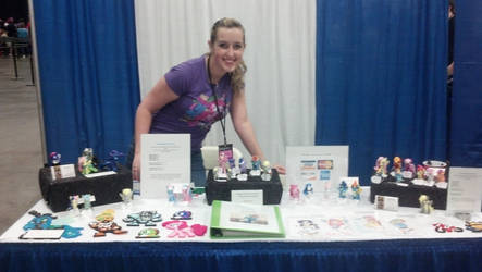 Equestrian Crafts Booth (Bronycon Summer 2012)
