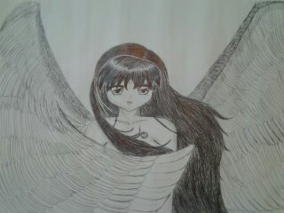 Rin the angel by MilagrosLaPinguinera