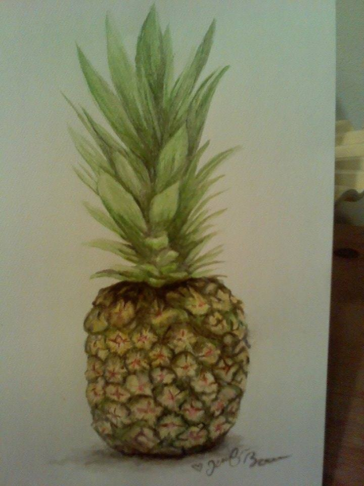 Pineapple by pandaloverlol