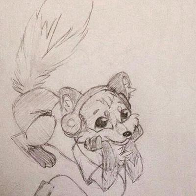 Little Fox by pandaloverlol