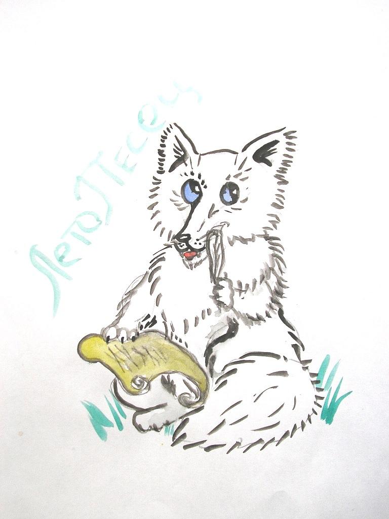 Chronicler arctic fox