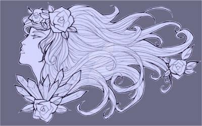 Roses custom Tattoo