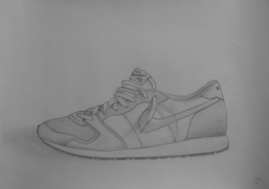 Nike Drawing Shoes Shoes Nike Air By