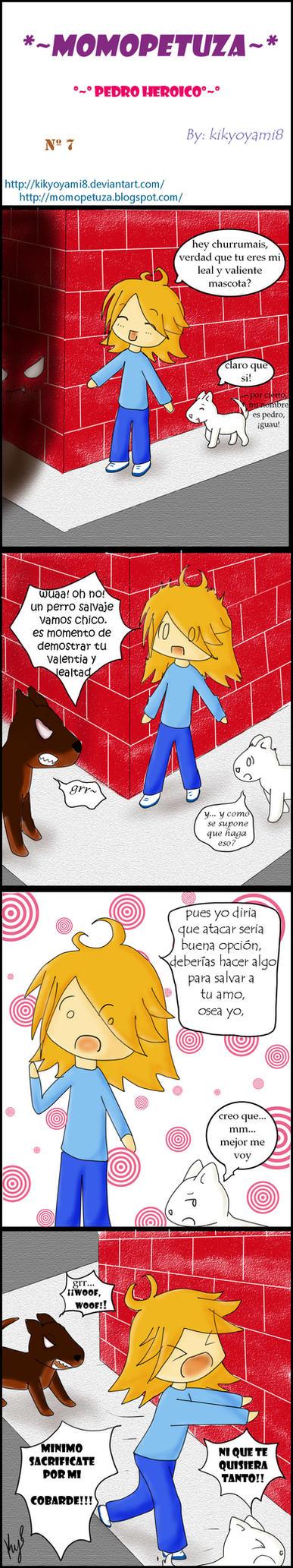 momopetuza tira7-perro heroico by kikyoyami8