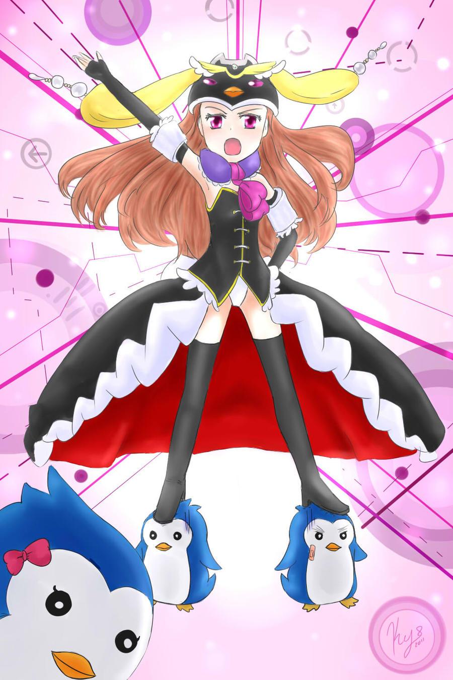 kikyo's Fanarts  - Página 2 Mawaru__penguin_drum_by_kikyoyami8-d4j0192