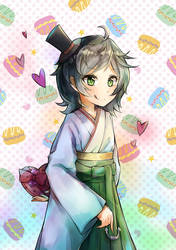 Matsukaze's Valentine by destizeph