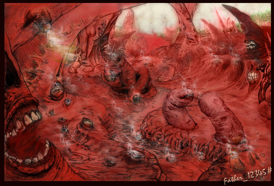 dante s third circle of hell a Descriptions of each level of dante's inferno in the third circle, you find yourself amidst eternal rain, maledict, cold dante's inferno hell test is based on dante's divine comedy, written in the early 1300s by dante alighieri.
