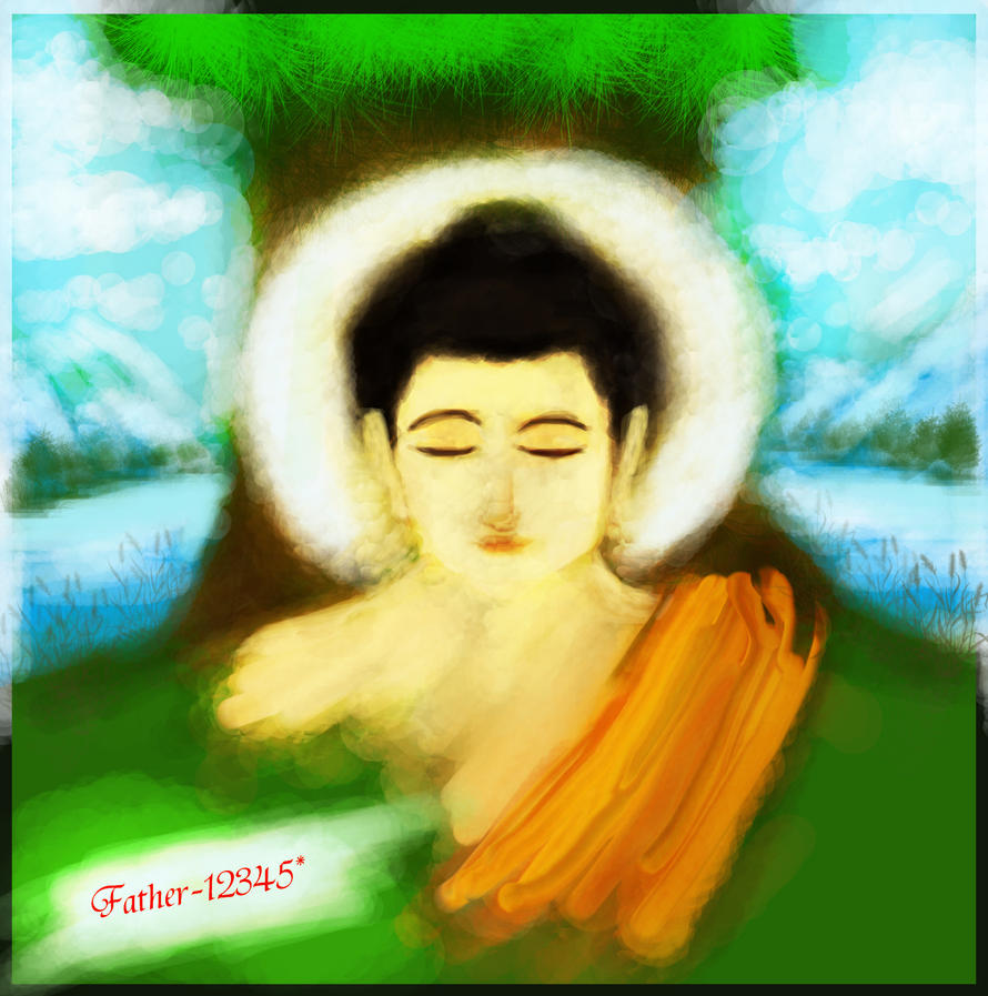 gautam buddha tattoo on hand