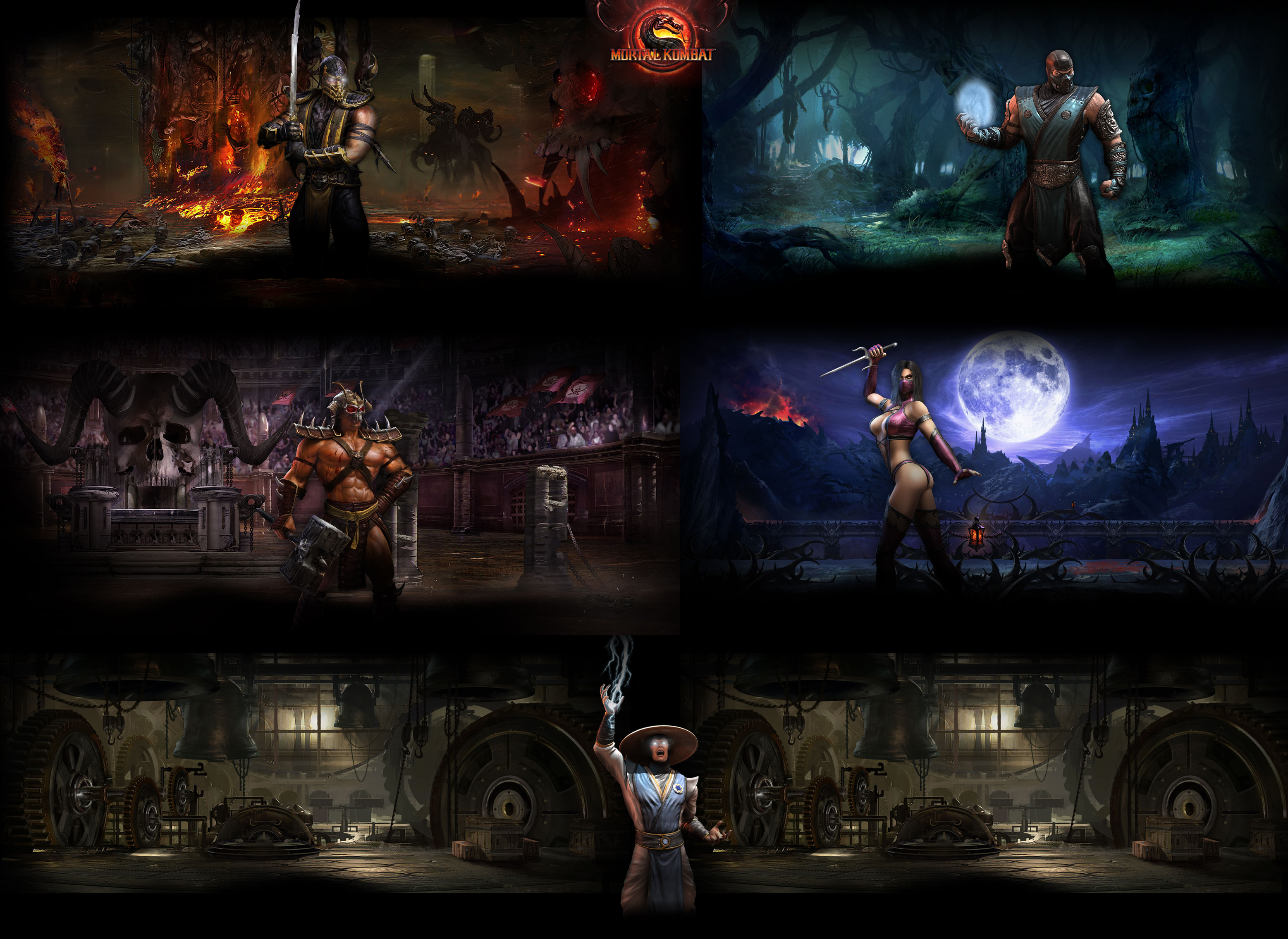 mortal kombat 9 wallpaper 2father12345 on deviantart