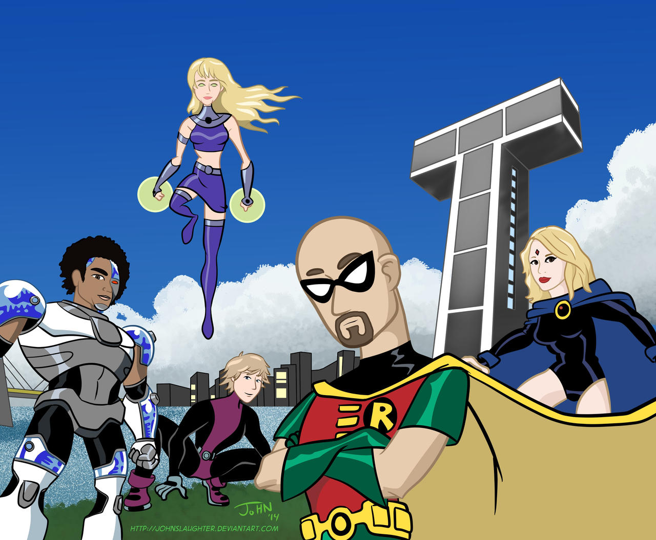 from Castiel teen titans voice cast