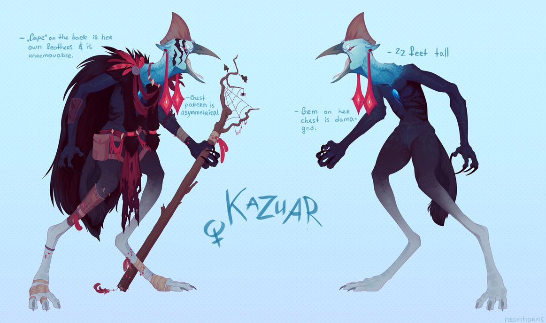 kazuar by neonhorns