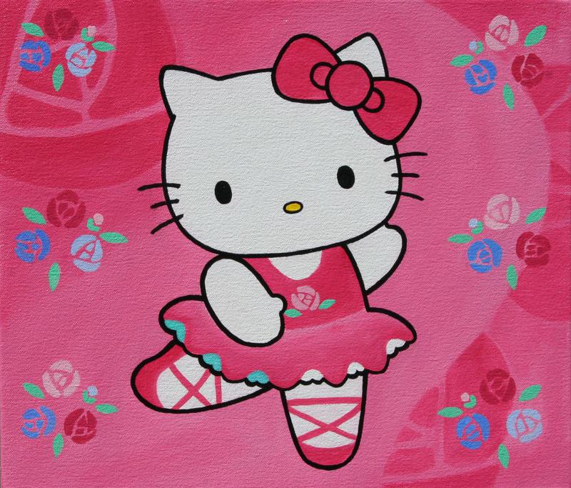 Hello kitty ballerina by redfeathersibis on deviantart - Ballerine hello kitty ...