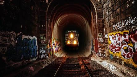 Mid night train .