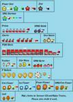 Mario and Luigi Styled Items
