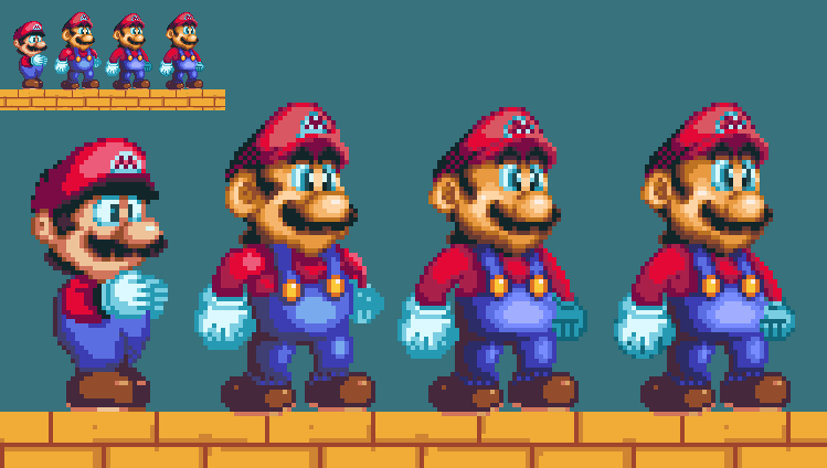 If 2D Mario continued onto the N64