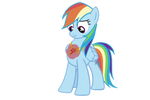 Rainbow Dash with her element