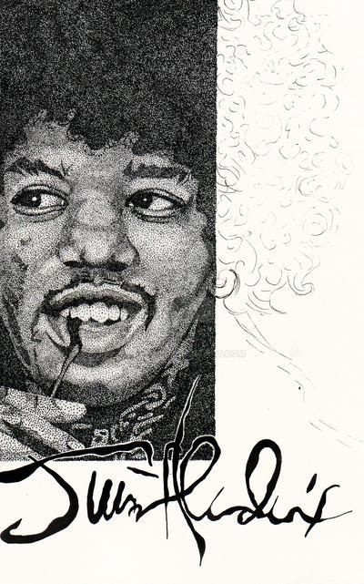 Jimmy Hendrix by Balu90