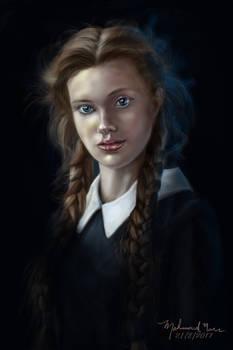 Digital Portrait girl