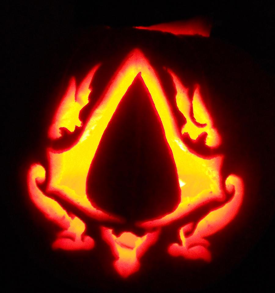 Assassin's Creed pumpkin by QuintiliVare on DeviantArt