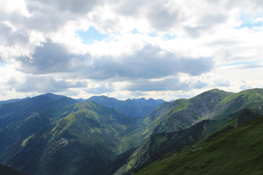 Valley - Giewont