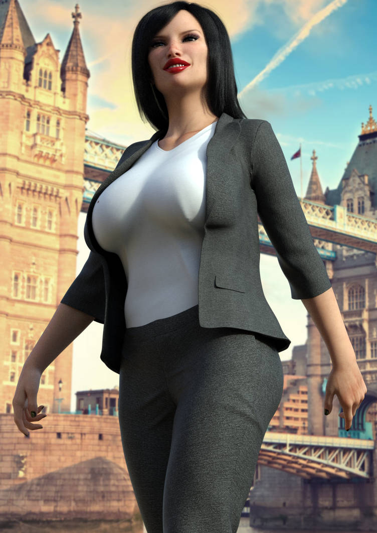 Laura Dreams Of Corp Domination by astralalex