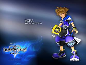 Sora: Wisdom Form by DarkElements10
