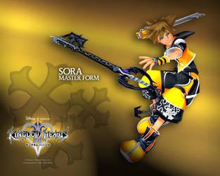 Sora: Master Form by DarkElements10