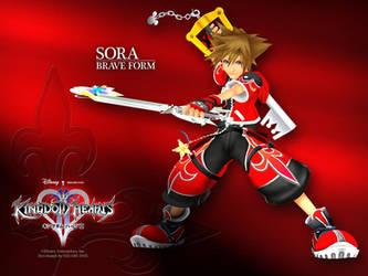 Sora: Valor Form by DarkElements10
