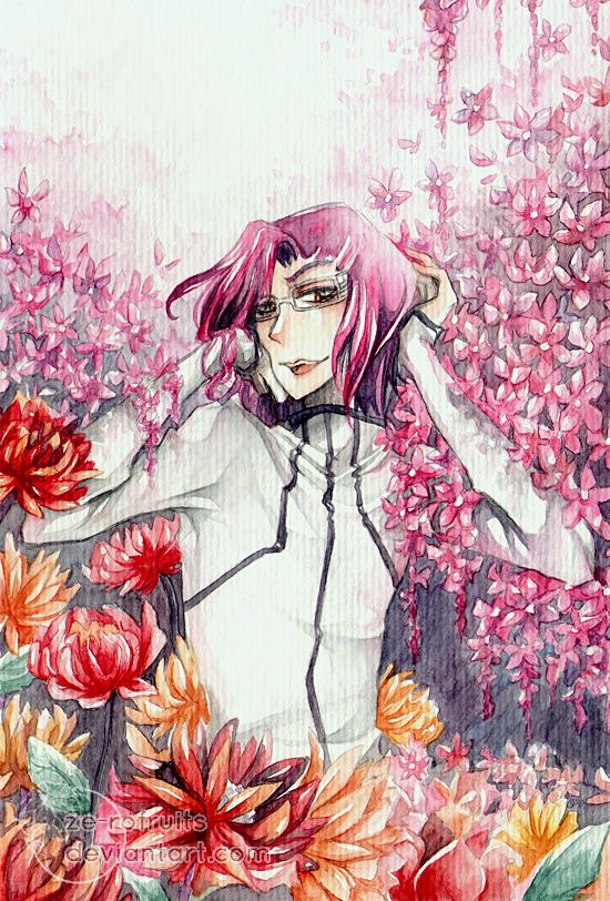 Bleach Bouquet: Szayel by Ze-RoFruits