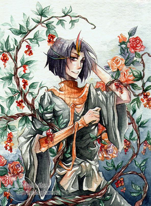 Bleach Bouquet: Yumichika by Ze-RoFruits