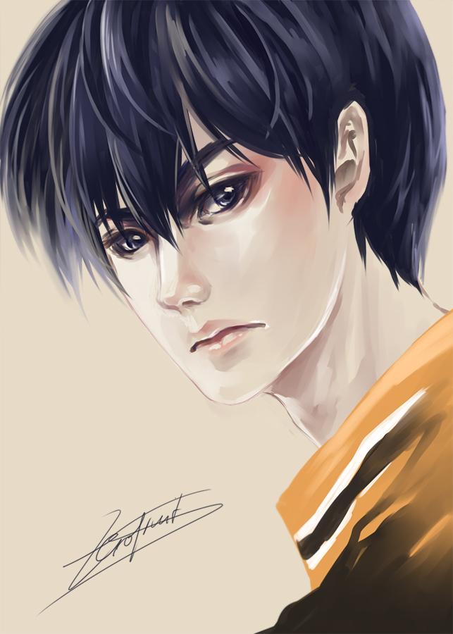 [Haikyuu!!] Kageyama Tobio by Ze-RoFruits