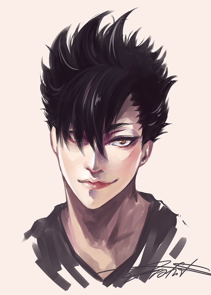 [HQ] Kuroo Tetsurou by Ze-RoFruits