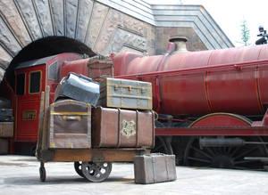 Hogwarts, Train and Luggage