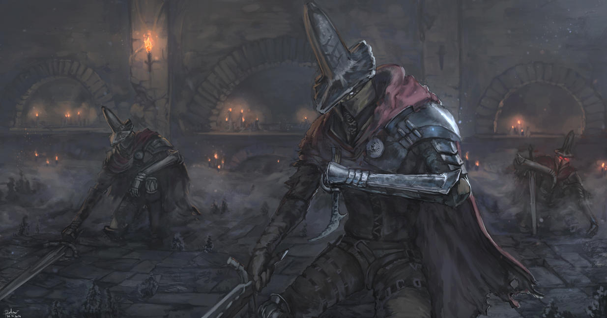Dark souls 3 abyss watchers by sharkalpha on deviantart - Watchers dark souls 3 ...