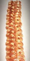 Copper Coil Egyptian Bracelet