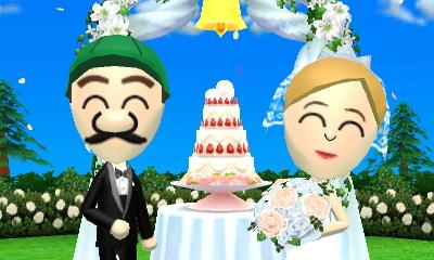 tomodachi life luigi and peachs wedding by luigibroz on