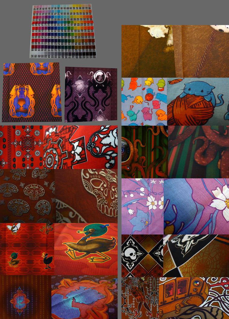 Fabric Designs V by JadeGordon