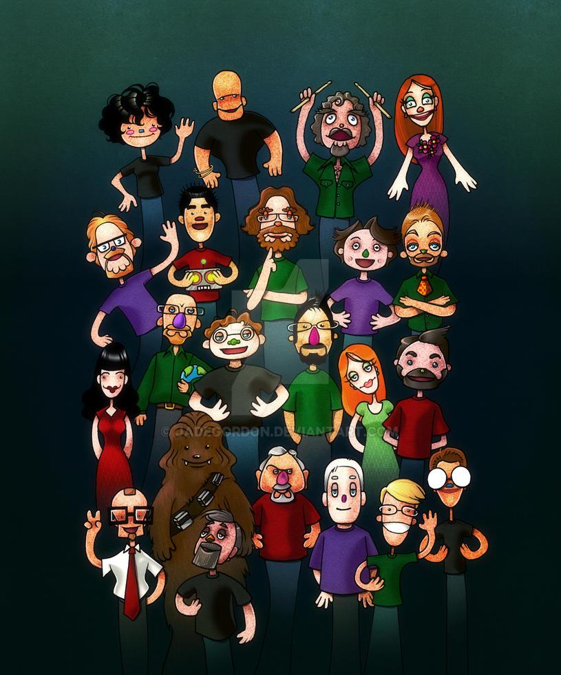 Muppety w00tstock by JadeGordon