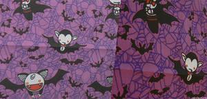 Vampies Fabric Purple