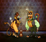 Paul 'n Storm Steampunk Monkey