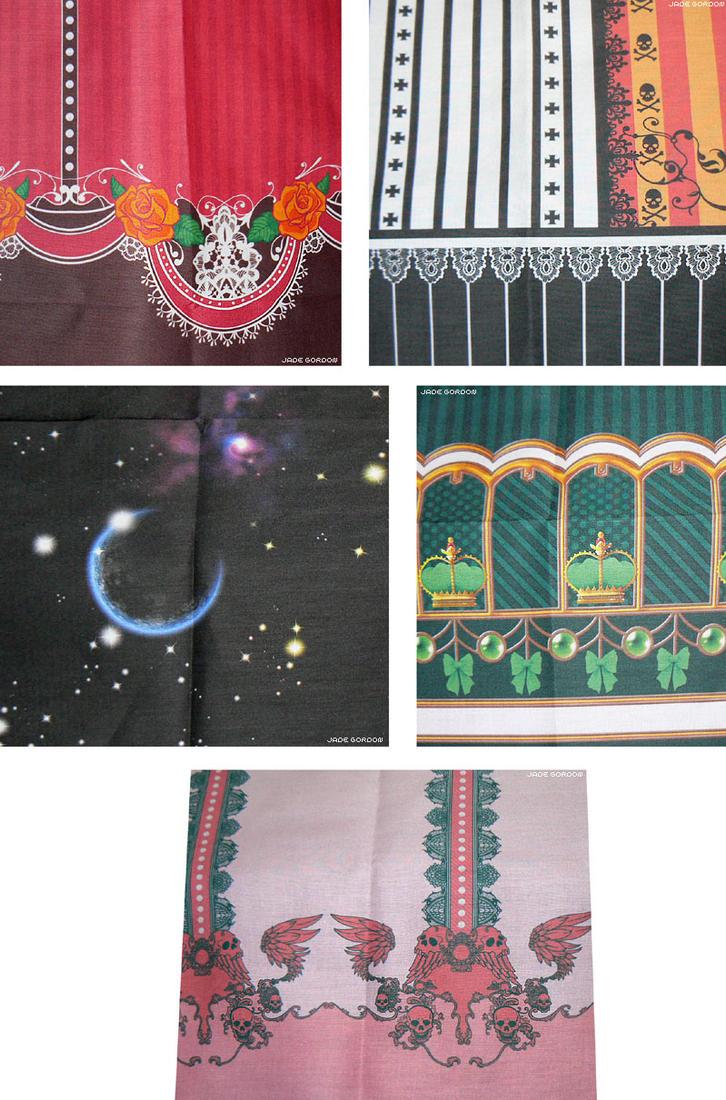 Fabrics XXXIII by JadeGordon