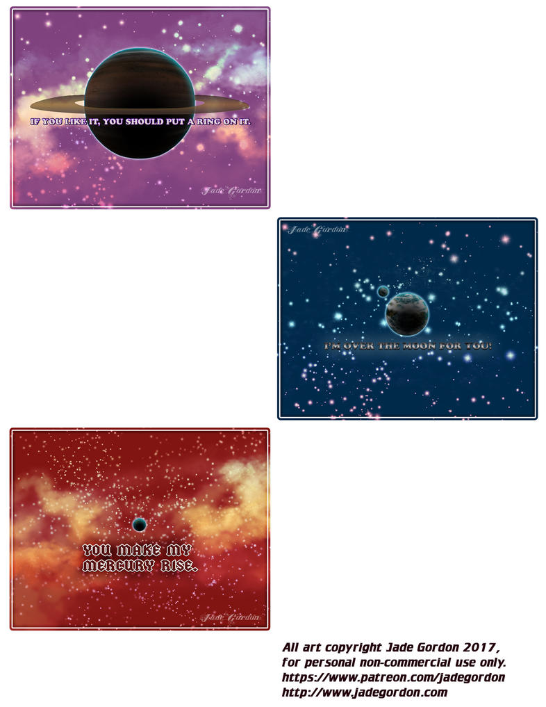 Space Valentines Part 2 by JadeGordon