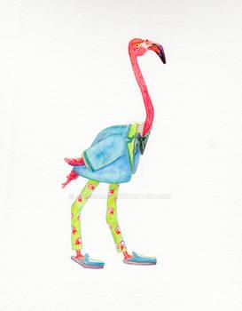 Flamingo in Menswear