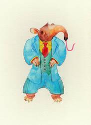 Aardvark in Menswear