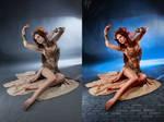 Retouch dancer