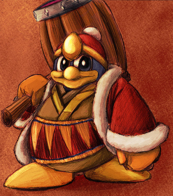 King dedede-Smash bros brawl by Evanatt