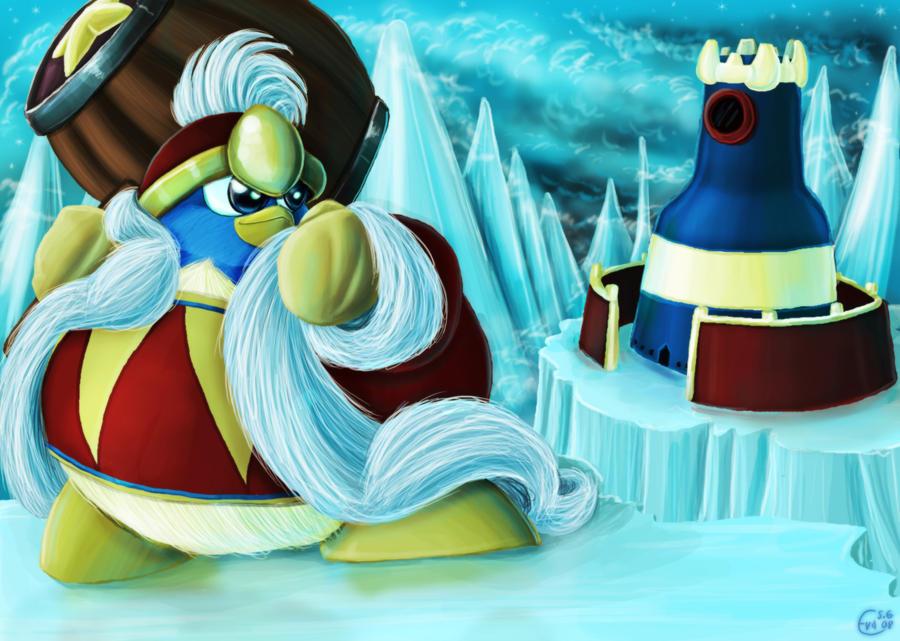 King Dedede in Iceberg by Evanatt