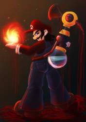 Mario's taste of blood by Evanatt
